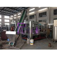 Buy cheap 330ml Automatic Bottle Beer Filling Machine Plastic Ring Pull Cap Sealing Machine product