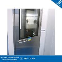 Buy cheap Automatic Blowing Cleanroom Air Shower / Pass Through Box UV Light HEPA Filter from wholesalers