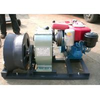 Buy cheap Power Construction Diesel Powered Winch , Cable Pulling Engine Powered Winch from wholesalers