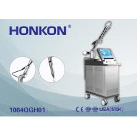 Buy cheap Acne Treatment Pigment Removal Q Switch Nd YAG Laser Machine 1 Hz -10 Hz product