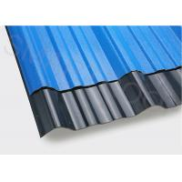Buy cheap High Gloss Black / Blue ASA PVC Plastic Sheet With Shock Resistance from wholesalers