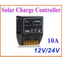Buy cheap 10A 12V/24V Solar Charge Controller Solar Panel Battery Regulator Safe Protection from wholesalers