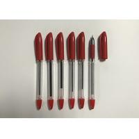 Buy cheap Coloful ABS Plastic Ballpoint Pen Round Shape With Customized Logo from wholesalers
