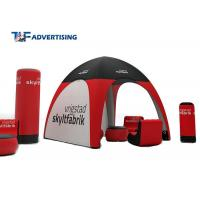 Buy cheap Small Inflatable Advertising Tent , Inflatable Tailgate Tent Commercial Grade Sewing Style from wholesalers