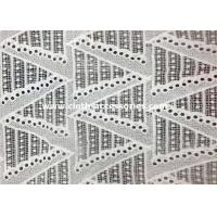 Buy cheap Home Garment White Water Soluble Lace Trim Embroidery Wave Graphic from wholesalers