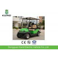 Buy cheap 4 Person Mini Folding Electric Golf Carts 4 Wheel Fuel Type Battery Operated from wholesalers