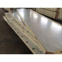 Buy cheap 42 Kg / m³ Cold Room Insulation Panels PU Lock Panel With Color Steel from wholesalers