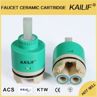 Buy cheap 40mm Water Saving Kitchen Taps Shower Mixer Valve Cartridge With Steps from wholesalers