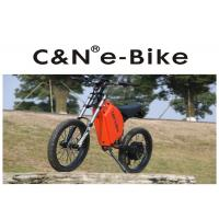 Buy cheap High Power Zero - Emission Fastest Off Road Electric Bike , Off Road Electric Bicycle product