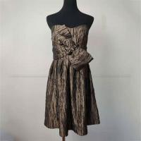 Buy cheap Women's Pleat Flare Strapless Bodycon Dress Fashion Designed For Dinner Party product