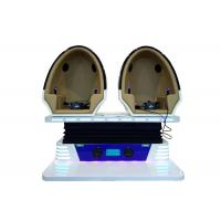 Buy cheap Popular 9D VR Cinema 2 Seats Blue / White Color For Business Investment product