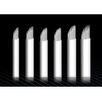 Buy cheap Blade Microblading Tattoo Needle Sets White Skin Needles For Manual Tattoo Pen from wholesalers