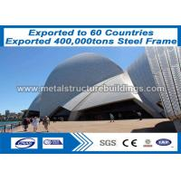 Buy cheap Pre Built Structures Formed 40x50 Light Steel Frame Metal Building To Banjul Market from wholesalers