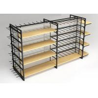Buy cheap Flooring Stand Retail Display Shelves / Commercial Store Fixtures With Hooks from wholesalers