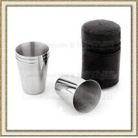 Buy cheap 1-15oz Stainless Steel Whiskey Shot Glasses Set from wholesalers