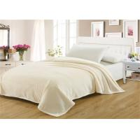 Buy cheap Square Shaped Coral Colored Blanket , Better Hand Wash Lightweight Fleece Blanket from wholesalers