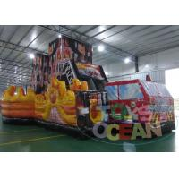 Buy cheap Giant Car Children Obstacle Course Equipment  Amazing With Huge Slide from wholesalers