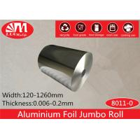 Buy cheap Alloy 8011 Temper O Aluminium Foil Jumbo Roll 30cm*10 Micron ISO Certificated from wholesalers