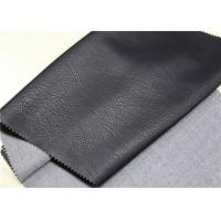 Buy cheap 0.65 Mm PU Leather Faux Leather , Waterproof PU Faux Leather Fabric from wholesalers