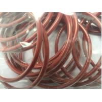Buy cheap Encapsulated Silicone O Ring Seals , Red High Temperature Rubber Silicone Rings from wholesalers