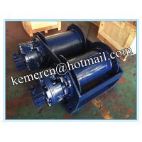Buy cheap Manufacturer of 6 ton double drum hydraulic winch with free fall function from wholesalers