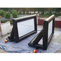 Buy cheap PVC Tarpaulin Inflatable Outdoor Movie Screen , Customized Rear Projection Screen from wholesalers