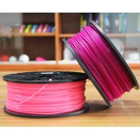 Quality PLA 3D Printing Filament 3.0mm Purple For Desktop 3D Printer for sale