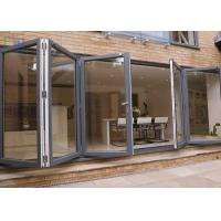 Buy cheap Heat Insulation Aluminium Folding Doors Corrosion Resistance With Insect Screen from wholesalers