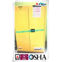 Buy cheap Grounding Flammable Storage Cabinets With Double Shelf For Dangerous Goods from wholesalers