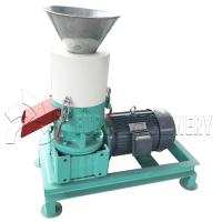 Buy cheap Rice Husk Poultry Feed Pellet Making Machine 200mm Die Diameter CE ISO Certification from wholesalers