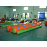 Buy cheap Colorful Inflatable Double Banana Boat For 12 People , Inflatable Water Games from wholesalers