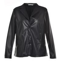 Buy cheap Autumn Or Winter Long Sleeve Ladies PU Jackets; Adults Street Motorcycle Jacket from wholesalers