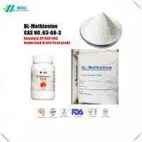Buy cheap Cheap Amino acids Methionine/DL- Methionine Nutrition Supplement Feed Additive/Food Additive from wholesalers