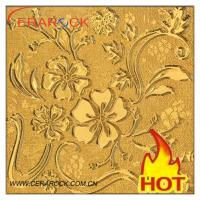 Buy cheap 300x300mm New Fashion Design Interior Crystal Polished Tile from wholesalers