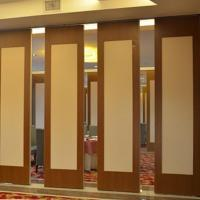 Buy cheap Commercial Restaurant Furniture Custom Design Folding Room Dividers Movable Partition Wall from wholesalers
