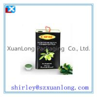 Buy cheap tin box for Olive Oil packing from wholesalers