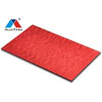 Buy cheap pop designs wall panel Fire Resistant Aluminum Composite Panel from wholesalers