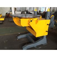 Buy cheap ISO 3 Axis Positioner Gear Tilt Welding Rotators Positioners 1200mm Table Diameter from wholesalers