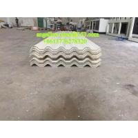 Buy cheap Plastic PVC sound and heat insulation hollow roof tile making machine product