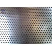 Buy cheap 1mm Punching Hole Stainless Steel Plate Sheet Customized Perforated Mesh from wholesalers