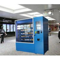 Buy cheap Instant Food Noodles Lunch Box Vending Machines Kiosk With Microwave and Credit Card Payment from wholesalers