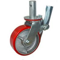 Buy cheap Polyolefin Scaffold Tower Casters 8 Inch Easy Movement Across Concrete from wholesalers