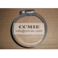 Buy cheap Bulldozer Stainless Steel Hose Clamp Spare Parts , CE / ISO Metal Pipe Clamp from wholesalers