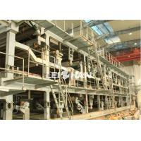 Buy cheap 3800mm Cardboard Corrugator Machine , Durable Paper Production Machine from wholesalers
