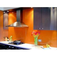 Buy cheap Custom Colour Painted Glass Backsplash Heat Strengthened Add Shine from wholesalers