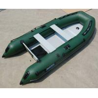Buy cheap 4 Person Hard Bottom Inflatable Boats Heavy Duty Inflatable Boat from wholesalers