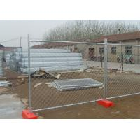 China Easily Assembled Portable Chain Link Fence With Low Carbon Steel Wire Material on sale