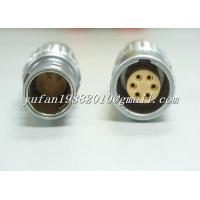 Buy cheap lemo FGG PHG 6pin push pull connector from wholesalers
