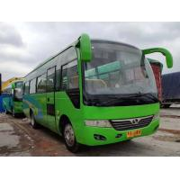 Buy cheap Left Side Drive Green Second Hand Tourist Bus 35 Seat Diesel Euro IV 8045mm Length from wholesalers
