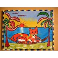 Buy cheap Hand Painted Art Tile from wholesalers
